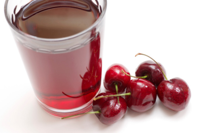DIY Cherry-Lemon Sports Drink