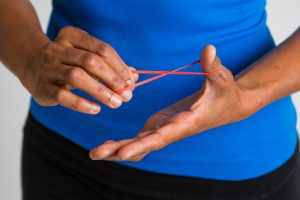 A rubber band