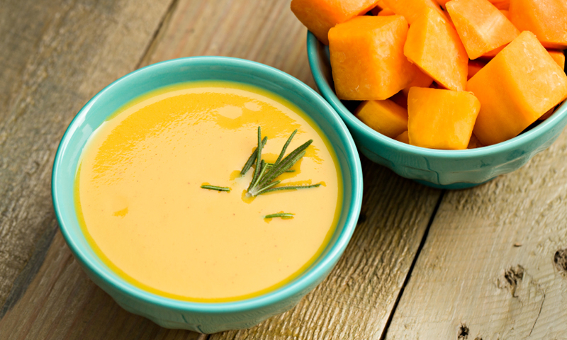Savory Butternut Squash Soup [Vegan] [Paleo]