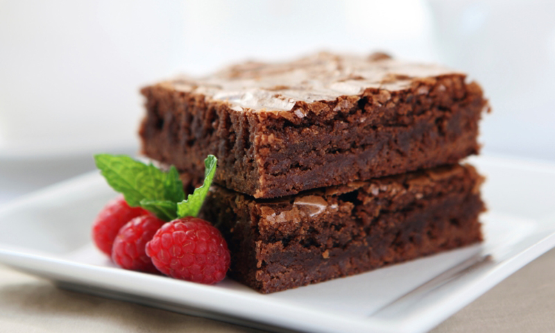 Ooey Gooey Chocolate Brownies