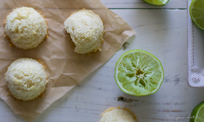 Tangy Coconut Lime Macaroons