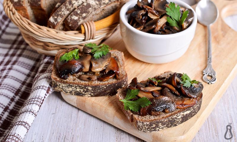 Savory Mushroom Saute