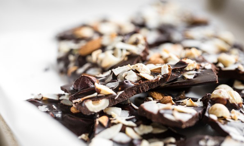 Crazy Good Chocolate Bark [Vegan] [Paleo]