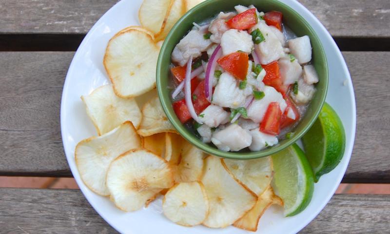 Crispy Yucca Chips